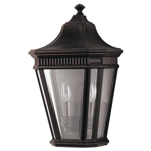 Feiss Cotswold Lane Two Light Outdoor Wall Lantern Fini...