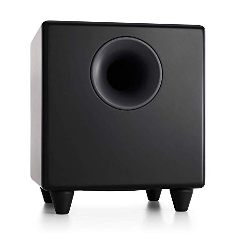 Audioengine S8 250W Powered Subwoofer, Built-in Amplifi...