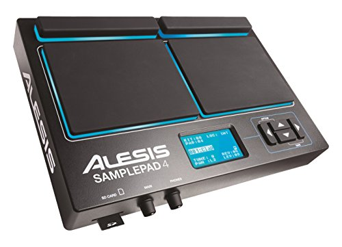 Alesis Sample Pad 4 | Compact Percussion and Sample Tri...