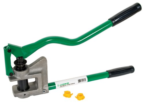 Greenlee - Stud Punch-Metal (710), Hole Making (710)