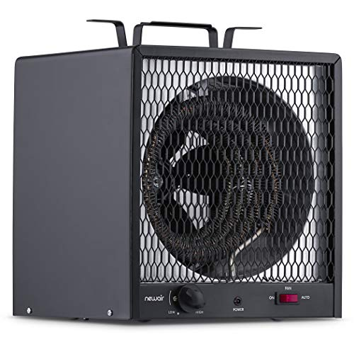 NewAir Portable Garage Heater, Electric Infared Fast He...