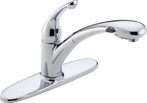 Delta Faucet Signature Single-Handle Kitchen Sink Fauce...