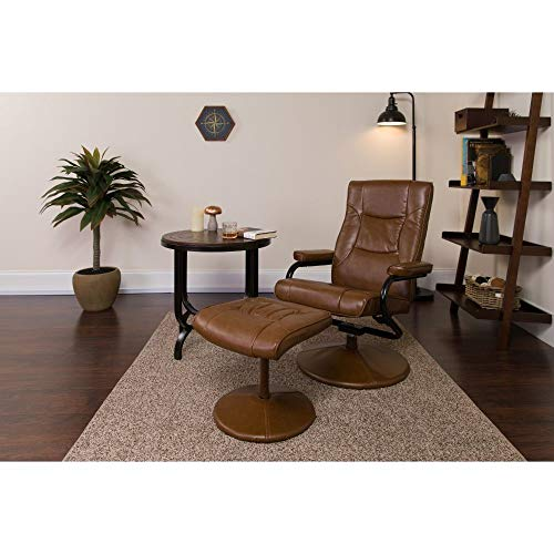 Flash Furniture Contemporary Multi-Position Recliner an...
