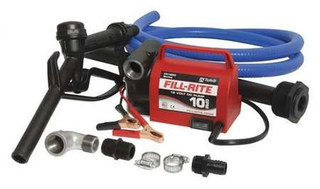 Fill-Rite Fuel Transfer Pump, 10 gpm, 8 ft. Hose