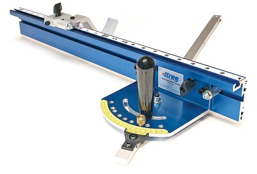KREG KMS7102 Table Saw Precision Miter Gauge System, Bl...