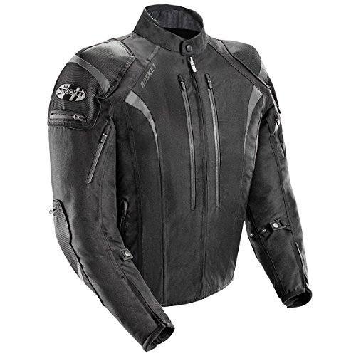 Joe Rocket Atomic 5.0 Mens Black Textile Jacket - Medium