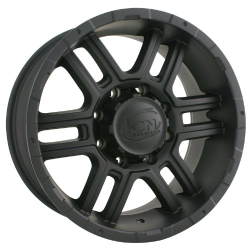 Ion Alloy 179 Black Machined Wheel (17x8