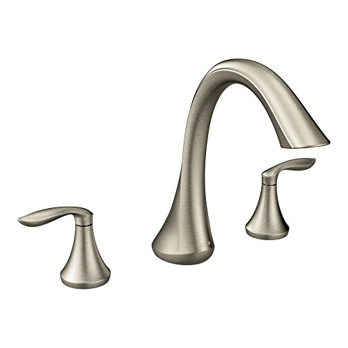 Moen Two Handle Deck Mount Roman Tub Faucet Trim Kit Valve Required