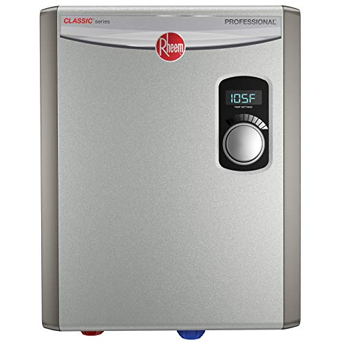 Rheem RTEX-18 18kW 240V Electric Tankless Water Heater,...