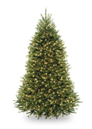 National Tree Company Pre-lit Artificial Christmas Tree...