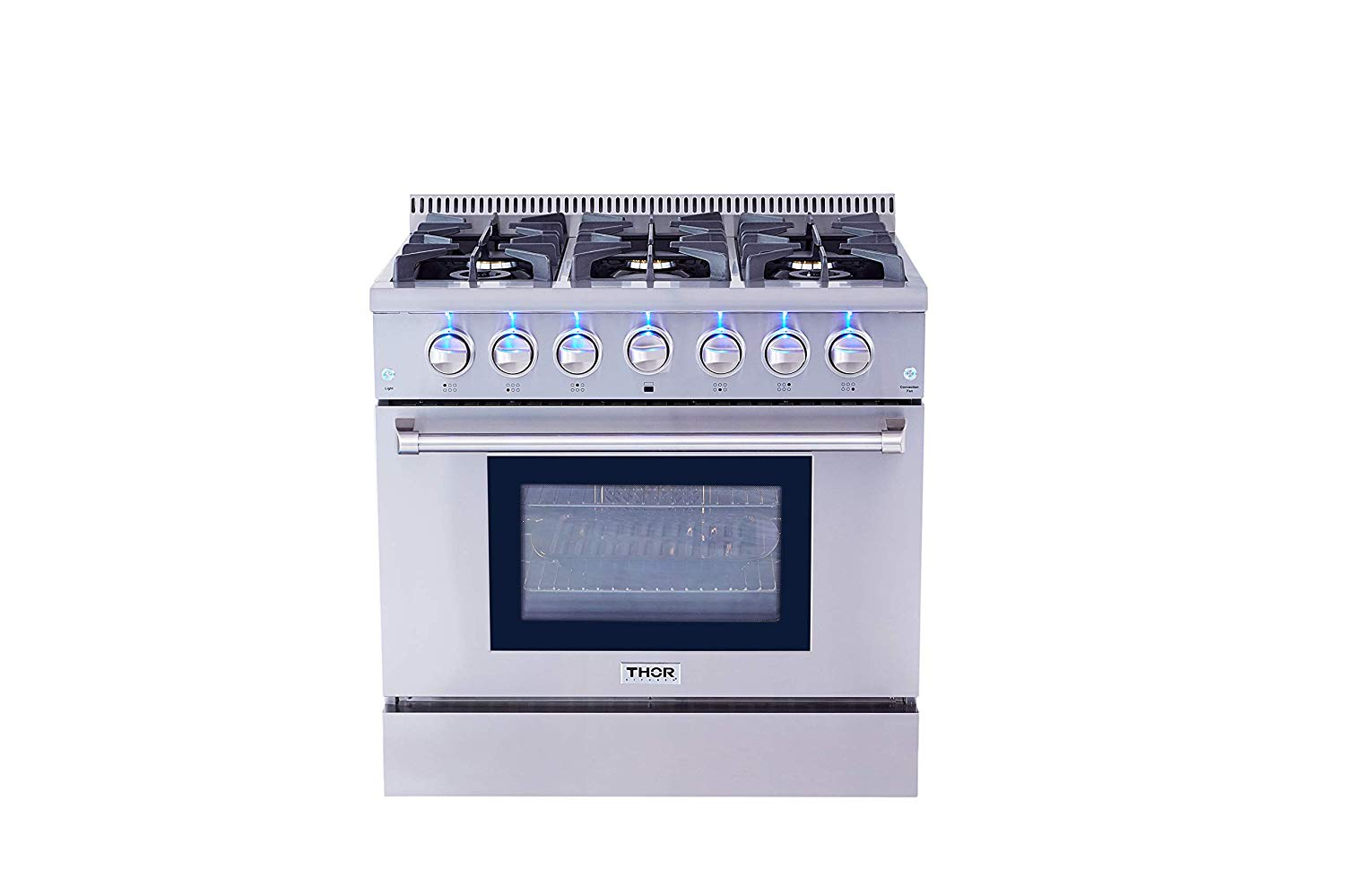 Thor Kitchen HRG3618U 36in Professional Stainless Steel...